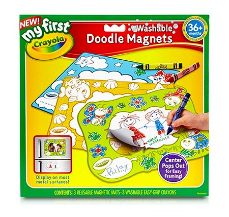 Crayola My First Crayola Washable Doodle Magnets - 1