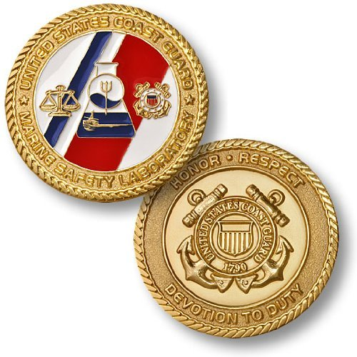 USCG Marine Safety Laboratory Challenge Coin
