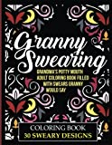 img - for Granny Swearing: Grandma's Potty Mouth Adult Coloring Book Filled With Swears Granny Would Say: Swear Word Coloring Book For Grownups book / textbook / text book