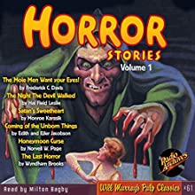 Horror Stories, Volume 1 (       UNABRIDGED) by Frederick C. Davis, Radio Archives Narrated by Milton Bagby