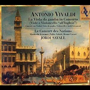 Antonio Vivaldi-La Viola da gamba in Concerto
