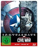 DVD & Blu-ray - The first Avenger - Civil War  3D: 3D+2D, Steelbook Edition [3D Blu-ray]