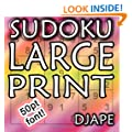 Sudoku Large Print: 150 puzzles in 50pt font!