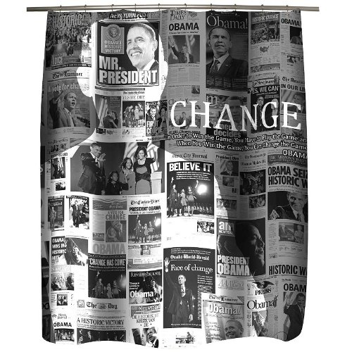 Famous Home Fashions Obama Shower Curtain