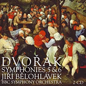 Dvor�k : Symphonies Nos 5 & 6, Scherzo capriccioso & The Hero's Song