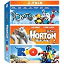Robots, Horton Hears a Who, & Rio 3-Movie Collection [Blu-ray]