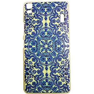 Generic Phunk International Hard Case Mobile Cove For Lenovo A7000 (Blue)