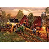 Masterpieces 1000-Piece Jigsaw Puzzle, 19.25 by 26.75-Inch, America's Heartland