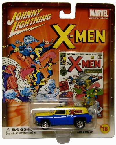 Johnny Lightning X-Men '54 Chevy Panel Van, Marvel #18 by Playing Mantis