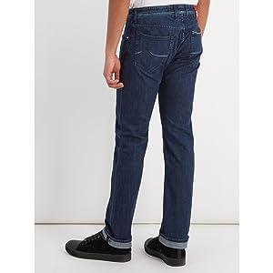 (ヤコブ コーエン) Jacob Cohen メンズ ボトムス・パンツ ジーンズ・デニム Mid-rise slim-leg jeans [並行輸入品]