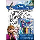 Disney Princess: Frozen Colouring Set (Colouring Sheets, Pencils, Stickers)