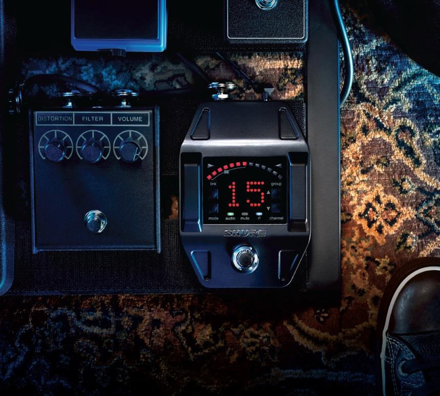 shure glxd16 digital guitar pedal wireless system z2 musical instruments. Black Bedroom Furniture Sets. Home Design Ideas