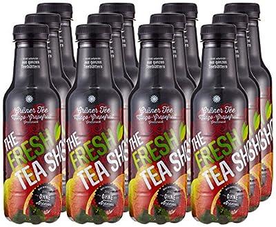 Fresh Tea Grüner Tee Mango-Grapefruit PET, 12er Pack (12 x 500 ml) von Fresh Tea bei Gewürze Shop