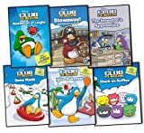 Disney Disney Club Penguin Collection 6 Books Set Pack RRP: £ 29.94 (Stowaway! Adventures at Sea, The Inventor's Apprentice, Waddle Lot of Laughs Joke Book,) (Disney Club Penguin Collection