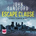 Escape Clause: Virgil Flowers, Book 9 Audiobook by John Sandford Narrated by Eric Conger
