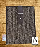 Harris Tweed iPad Mini / iPad Air/ Kindle Fire Sleeve (Black Twill)