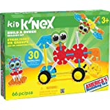 KID K'NEX - Build A Bunch Set - 66 Pieces - For Ages 3 Construction  Educational Toy