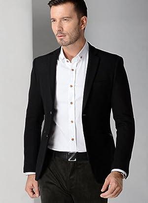 Ze-style メンズ 長袖 テーラードジャケット