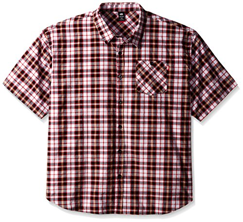 Ecko Unlimited Men's Big and Tall Plaid Short Sleeve Woven