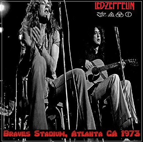 Led Zeppelin - Braves Stadium,Atlanta Ga 1973