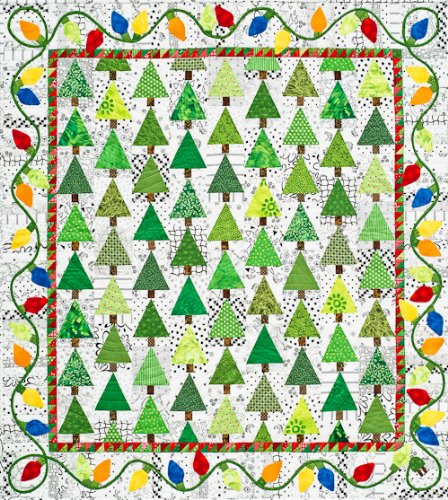 Holiday Lights Quilt Pattern By Alex Anderson SALE | Best Daily Deals