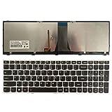 New US Keyboard For Lenovo G50-70 G50-70M B50 G50-70AT B50-70 B50-80 Z70-80 With BackLight (SLIVER) (Color: SLIVER)