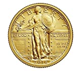 2016 W Standing Liberty Centennial Gold Coin 1/4th Ounce Quarter Uncirculated US Mint