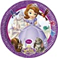 Sofia The First Birthday Party Paper Plates x 8