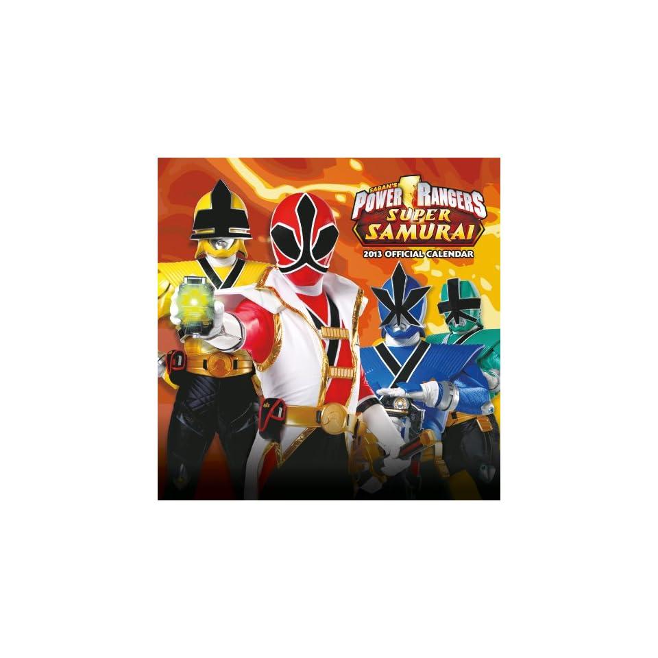 Power Rangers Samurai Calendar 2013 Englische Bücher