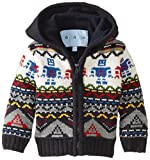 Wippette Baby Boys' Robot Sweater Coat