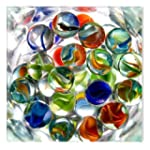 Crystal Balls Abstract Canvas Wall Ar...
