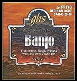 GHS Strings Banjo Set (Light, Stainless Steel)