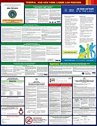 2016 New York State and Federal All-in-one Labor Law Poster - English