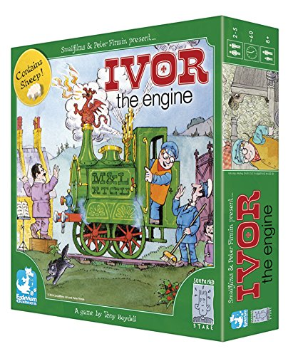 Ivor The Engine Board Game. A delightful strategy game for 3-5 players based on the classic animated series.