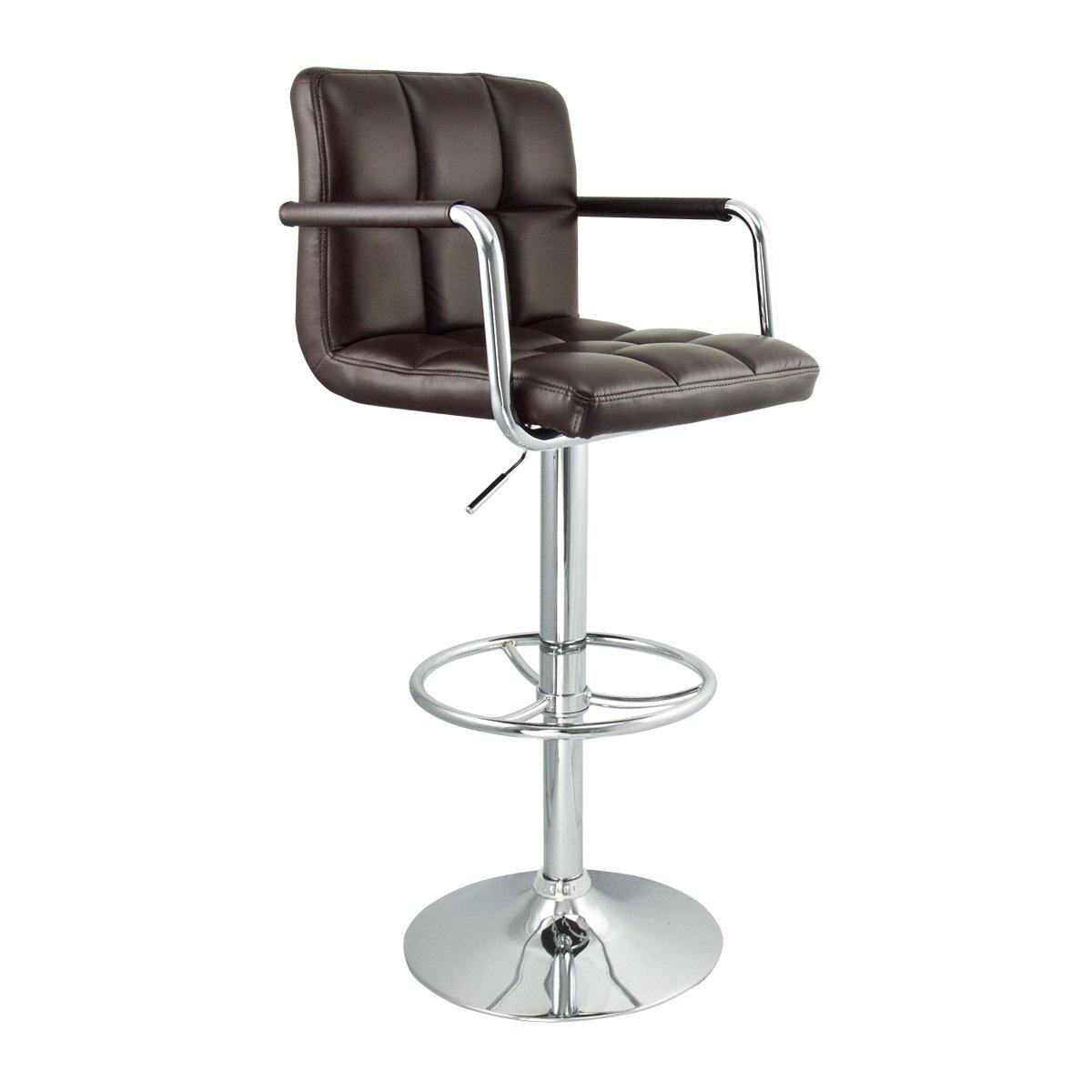 Roundhill Pc140r 2 Swivel Elegant Pu Leather Modern