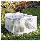 Housse de protection pour table ronde de jardin