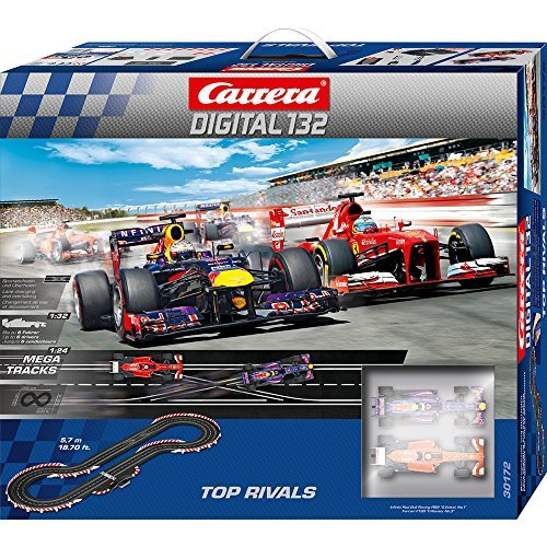 1/32 slot car Carrera Digital132 Top Rivals SET 20030172