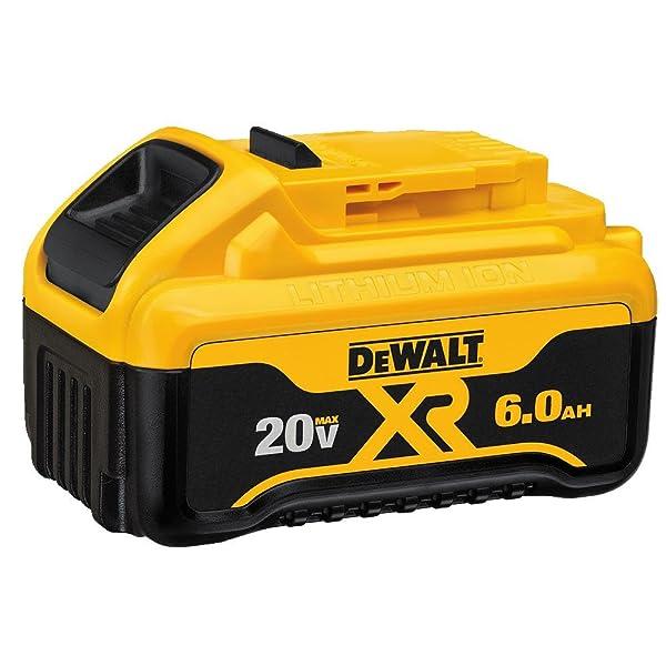 DEWALT 20V MAX Battery, Premium 6.0Ah Double Pack (DCB206-2)