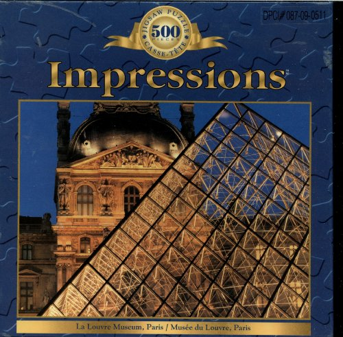 Picture of Sure-Lox Impressions 500 Piece Puzzle, The Louvre Museum, Paris France (B005FVRBLU) (Jigsaw Puzzles)