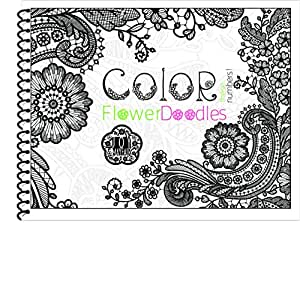 Color by number coloring book for adults Coloring books for adults spiral bound