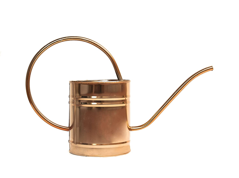 1 6 liter copper watering can indoor outdoor plants Small watering cans for indoor watering