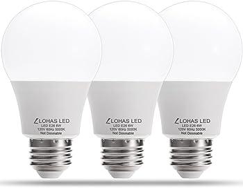 3-Pk. LOHAS LED Light Bulbs