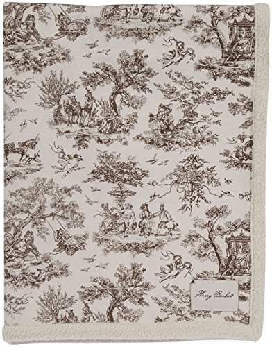 Harry Barker Toile Blanket - Brown - Large
