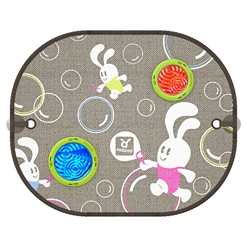 Benbat 2 Count Bubble Dream Round Car Sunshade - 1