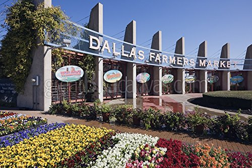 Entrance to the Dallas Farmers Market