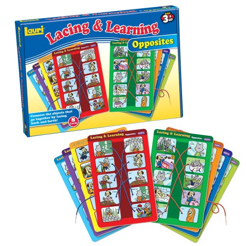 Lauri Toys Lacing and Learning Opposites - 1