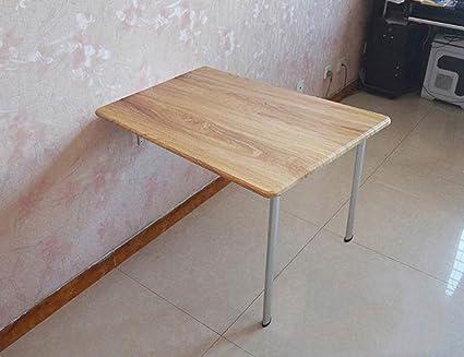ZXLDP Escritorio De Pared Escritorio De Computadora Mesa De Aprendizaje Mesa De Comedor Plegable Mesa De Oficina Tamaño Opcional ( Tamaño : B-75cm*40cm*74cm )