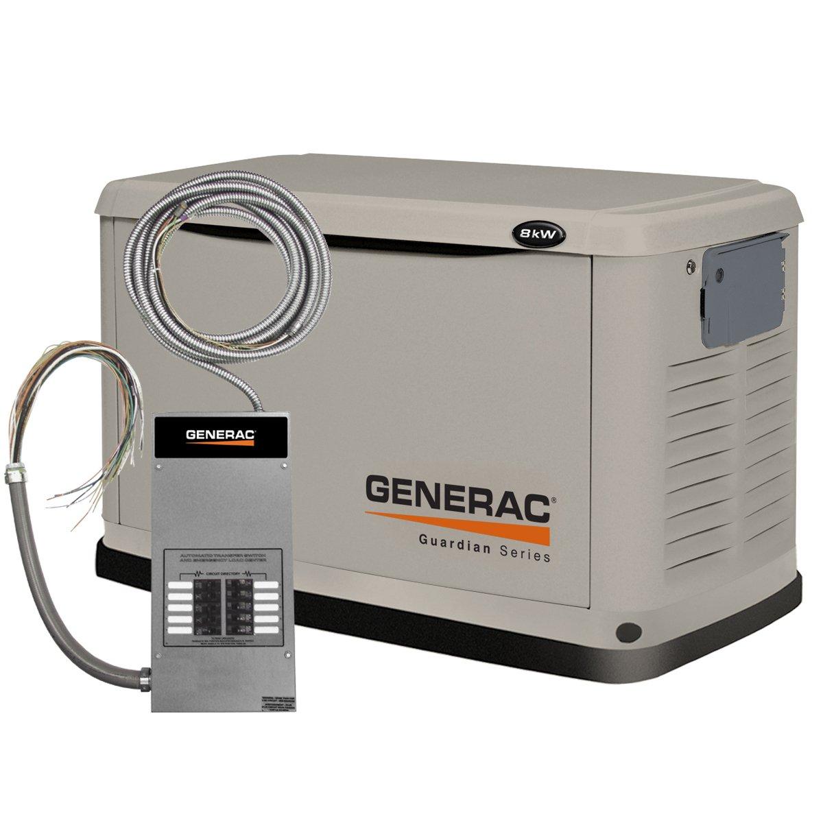 Natural Gas Liquid Propane Generac Standby Generator 22kw