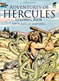 img - for Adventures of Hercules Coloring Book (Dover Classic Stories Coloring Book) book / textbook / text book