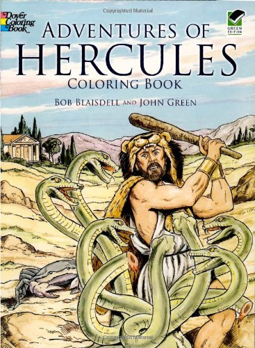 Adventures of Hercules Coloring Book (Dover Classic Stories Coloring Book)